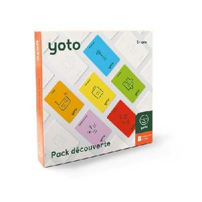 Pack découverte Yoto 6 Cartes audio incluses