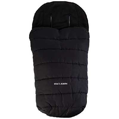 Maclaren Chancelière universelle pour temps froid accessoire de poussette, apportant un rembourrage supplémentaire au siège, s'adapte à toutes les poussettes cannes pliantes Maclaren et autres marques