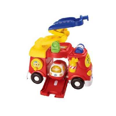 Vtech - 151315 - Véhicule Miniature - Tut Tut Bolides - Mon Super Camion De Pompiers - Version FR