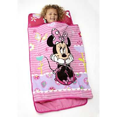 Disney Minnie Mouse Toddler Rolled Nap Mat, Sweet as Minnie by Disney
