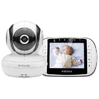 Motorola MBP36S/SC - Moniteur Vidéo Bébé avec Écran LCD Couleur 3,5