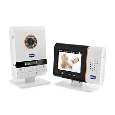 Chicco Écoute Bébé Vidéo Digital Top avec Câble USB Blanc