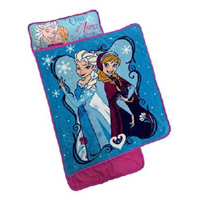 Disney Frozen Elsa & Anna Personalized Toddler Nap Mat
