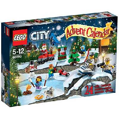 Calendrier de l'avent Lego City version 4