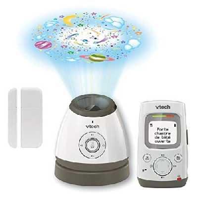 VTech - Babyphone Vidéo Vision XXL - Grand écran couleur avec zoom - BM4550 - Version FR