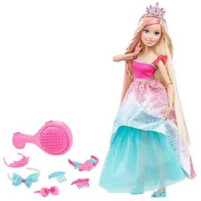 Barbie - DKR09 - Grandes princesse à coiffer - Blonde - 43 cm