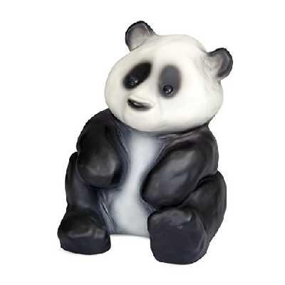 Heico - Egmont Toys Veilleuse Forme Panda Blanc/Noir