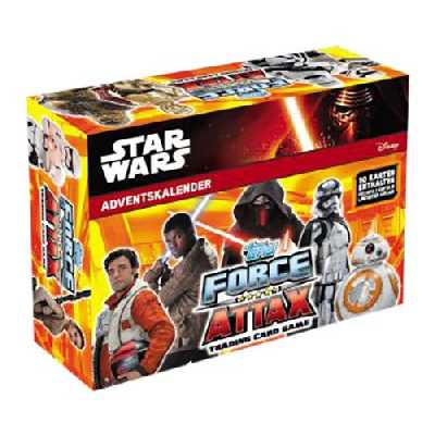 Calendrier de l'Avent Disney Star Wars Force Attax