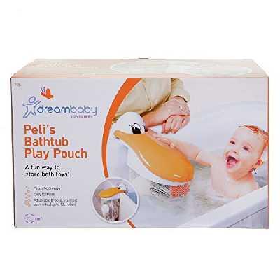 Dreambaby Sac de baignoire pour ranger jouets, Pelican