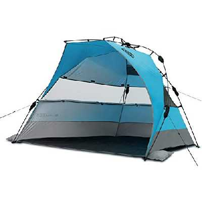 Qeedo Quick Bay XL Tente de Plage familiale (Quick-Up-System)