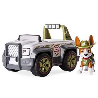 Paw Patrol - 6053388 - Véhicule + Figurine Tracker Paw Patrol