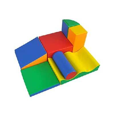 IGLU XL Blocs de Construction en Mousse, Jouets éducatifs - 7 pièces
