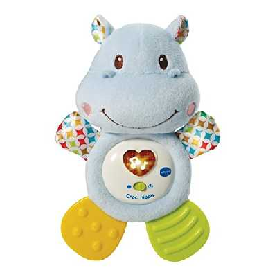 VTech- Croc'Hippo Croc Hippo, 80-502505 - Version FR
