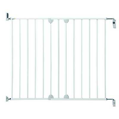 Safety 1st Wall-Fix Barriere de Porte Extending Metal White