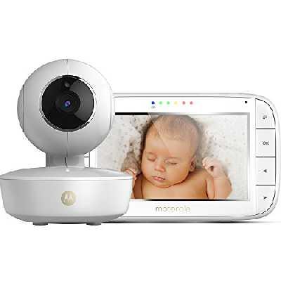 Motorola MBP 50 - Babyphone Vidéo avec Grand Écran 5.0