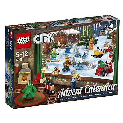 Calendrier de l'avent Lego City version 3