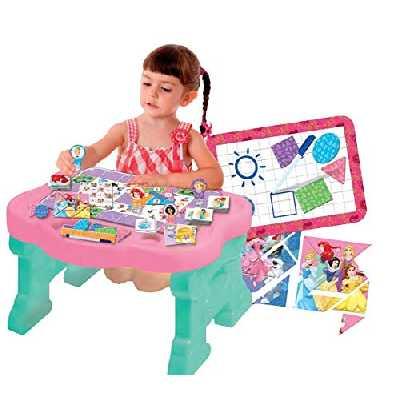 Lisciani – Jeux Educatifs – Mon Bureau Princesses Disney - 58907 38,8 x 58,8 x 12,7