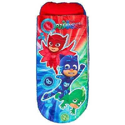 PJ Masks 406PJM ReadyBed Lit d'appoint Gonflable pour Enfants avec Couette intégrée Polyester Multicolore 62 x 150 x 20 cm