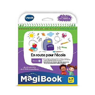 VTech- 1 MagiBook, 481205 - Version FR