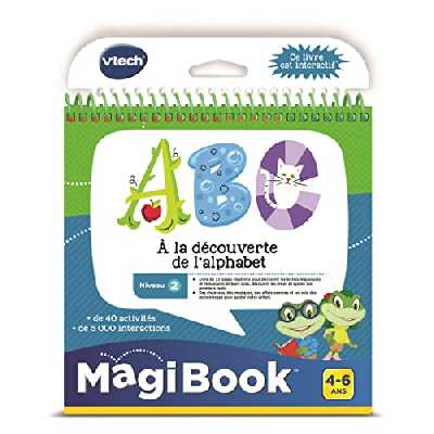 VTech- MagiBook, 480605 - Version FR