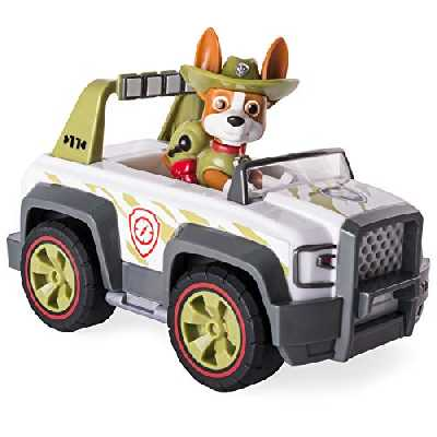 Spin Master Selection Deluxe Vehicles | Son et caractère | Paw Patrol | Pat' Patrouille , Figure: Tracker