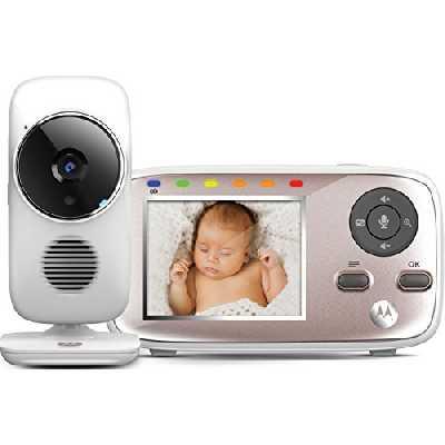 Motorola Baby MBP 667 Connect - Moniteur bébé vidéo Wi-Fi avec écran 2.8