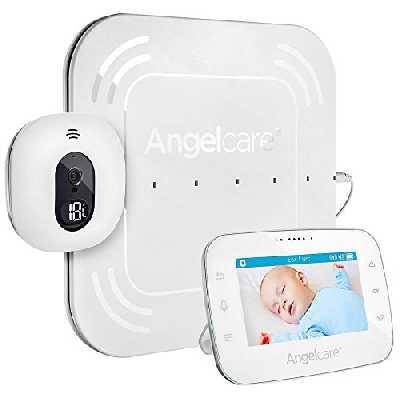 Angelcare A0315-DE0-A1001 Babyphone avec surveillance vidéo et mouvement AC315-D/écran 4,3