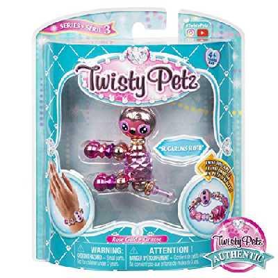 Twisty Petz - 6044770 - Pack de 1 Twisty Petz - Bracelets bijou cadeau animaux magiques – Jouet enfant, Animaux à collectionner - Modèle aléatoire
