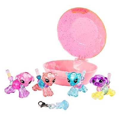 Twisty Petz - 6044224 - Pack de 4 Babies Twisty Petz – Bracelets bijou cadeau animaux magiques – Jouet enfant, Animaux à collectionner - Modèle aléatoire