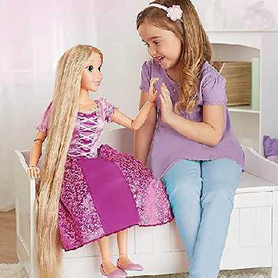 Disney Princesse Poupée Mon Amie Raiponce 80cm