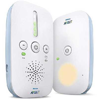 Philips Avent SCD503/26 Ecoute-bébé DECT, Mode Smart ECO, Connexion privée à 100 % très longue portée (330 m)