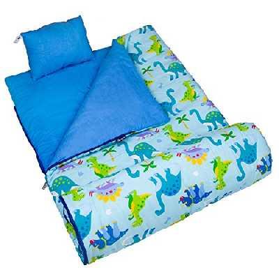 Wildkin Sac de couchage pour enfant Motif dinosaure