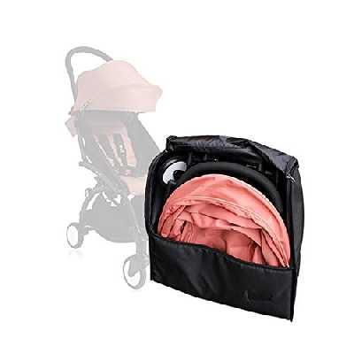 Accessoires Bbébé Poussette Pour Babyzen Yoyo Sac De Voyage Sac à Dos de Rangement Yoya (noir)