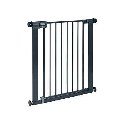 Safety 1st Easy Close Barrière de sécurité Très sûre pour le Serrage, sans Perçage, 73 - 80 cm,Grise - [Extensions jusqu'à 108cm vendues séparément].