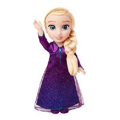 La Reine des Neiges - Poupée Elsa Chantante dans Un Autre Monde 38 cm, 207474