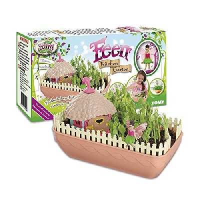 My Fairy Garden Feen Küchen Garten Set de Cuisine Jouet Fixé avec des Graines de Pois, 4 ans, E72903DE - Version Allemande