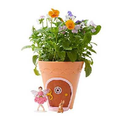 TOMY - My Fairy Garden, La Maison de La Fée E72908FR, Jardin à Faire Pousser pour Enfant, Idée de Cadeau, Mini Figurine Fée, Jouet Fille À partir de 4 ans+
