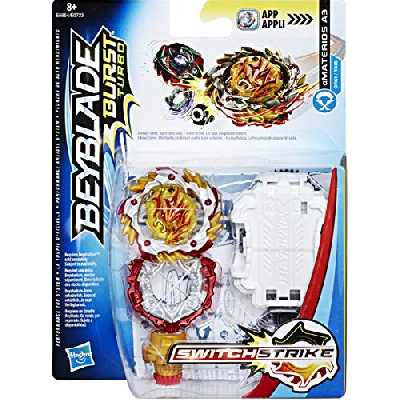 Hasbro Beyblade Switchstrike Starter Pack Toupies Beyblade Amaterios A3