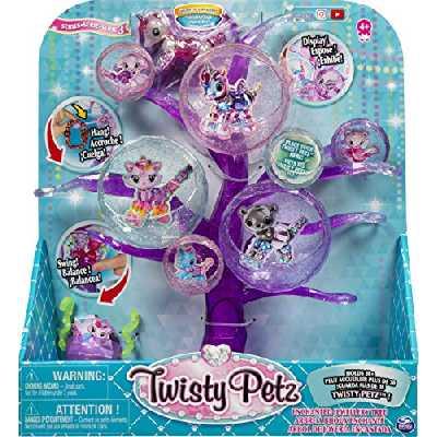 Twisty Petz - 6053562 - Playset Arbre à Bijoux Twisty Petz - Bracelets Bijou Cadeau Animaux Magiques - Jouet enfant, Animaux à Collectionner