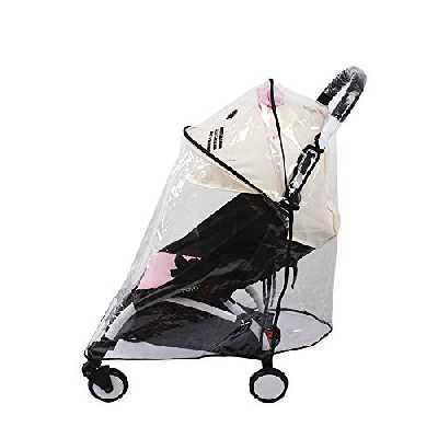 Accessoires Poussette bébé Habillage Pluie pour Babyzen Yoyo Yoya Imperméable Imperméable au Vent (Large)