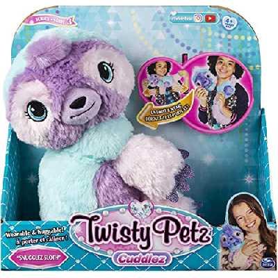 Twisty Petz - 6054694 - Jouet enfant - Bracelets Bijou Cadeau Animaux Magiques - Peluche Twisty Petz Paresseux
