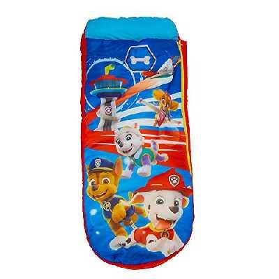 Paw Patrol La Pat' Patrouille Junior ReadyBed-lit Gonflable pour Enfants avec Sac de Couchage intégré, Polyester, Einzel