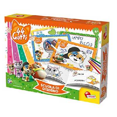 Lisciani 44 Cats Ecole de Dessin Multicolore 76048