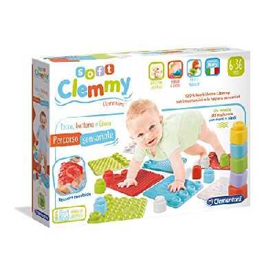 Clementoni - Soft Clemmy - 17313 - Tapis de Souris, Chaton, Jeu, Multicolore