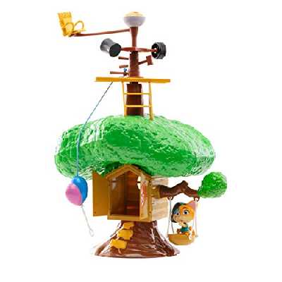 Smoby-44 Chats Club House Personnages et Playset Unisexe, 3.03216E+12, Multicolore