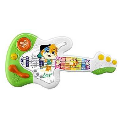 Chicco-44CHATS Guitare De Lampo, 00009918100000, coloré