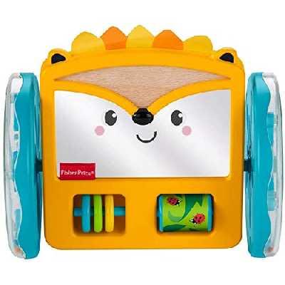 Fisher-Price Mon Hérisson d'Activité Roulant, jouet pour encourager bébé à ramper, 3 mois et plus, GJW14