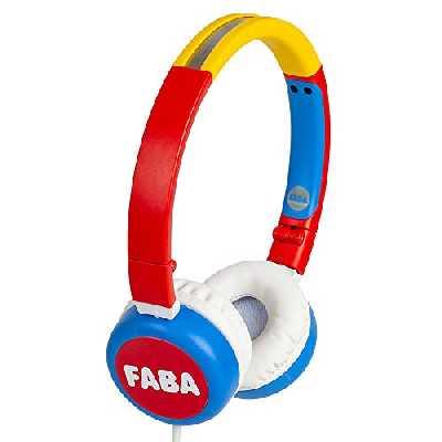 Casque audio pliable - casque audio pour enfants original FABA, FABA HPW40001