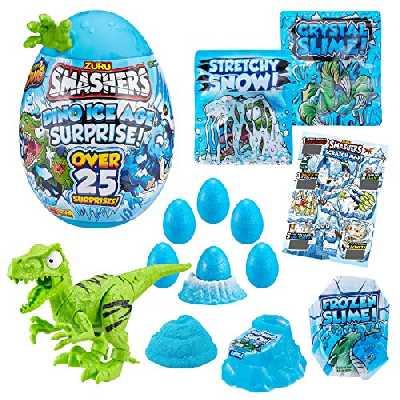 ZURU SMASHERS Dino Ice Age Surprise, Giant Egg - Raptor 7455D