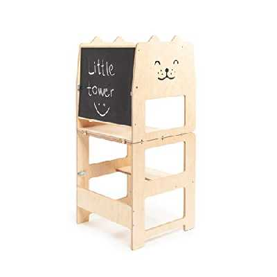 escabeau CXLO La Tour d'Apprentissage/d'Observation Montessori est,Kitchen Step Stool for Toddlers Or Any Little Helper